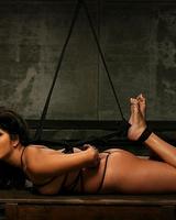 Сочная черноволосая блудница в интересных порно-снимках