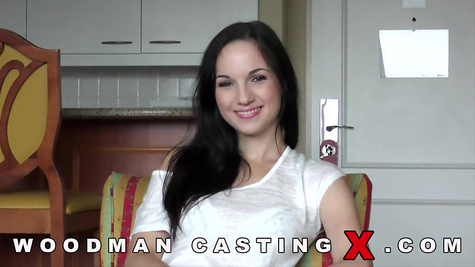 Woodman casting with brunette Christy Black
