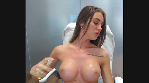 Very titted chick shows herself perfectly