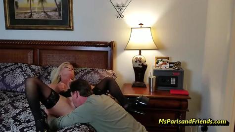 Домашка с милфой, кунилингус и жарка пизды