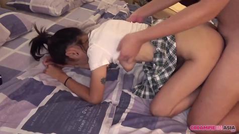 Азиатку рачком на камеру, любительский порно секс