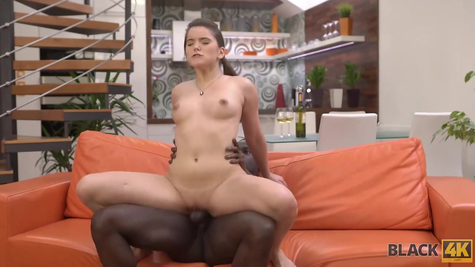 The Negro arranges a fuck for a gorgeous white chick