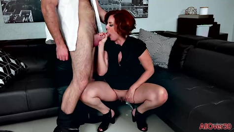MILF and mature guy great fuck couple