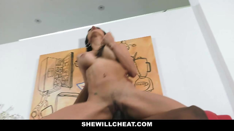 Someone else's white woman gets fucked by a black big cock