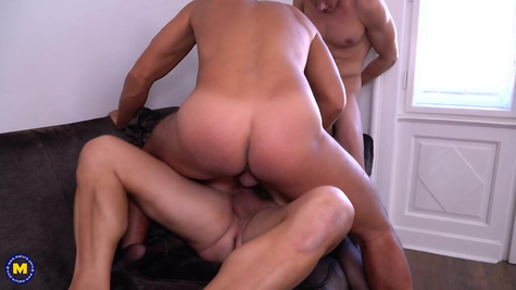 Gangbang for a slut in all working holes