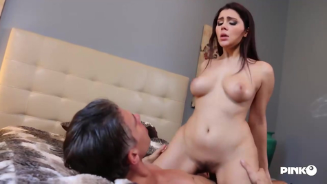 Busty wench has great sex with a hot cock