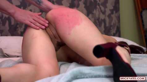 Pounding submissive chick hard
