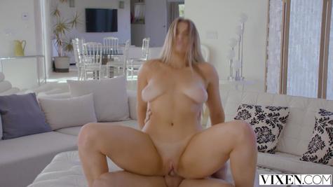 Busty mistress gets banged