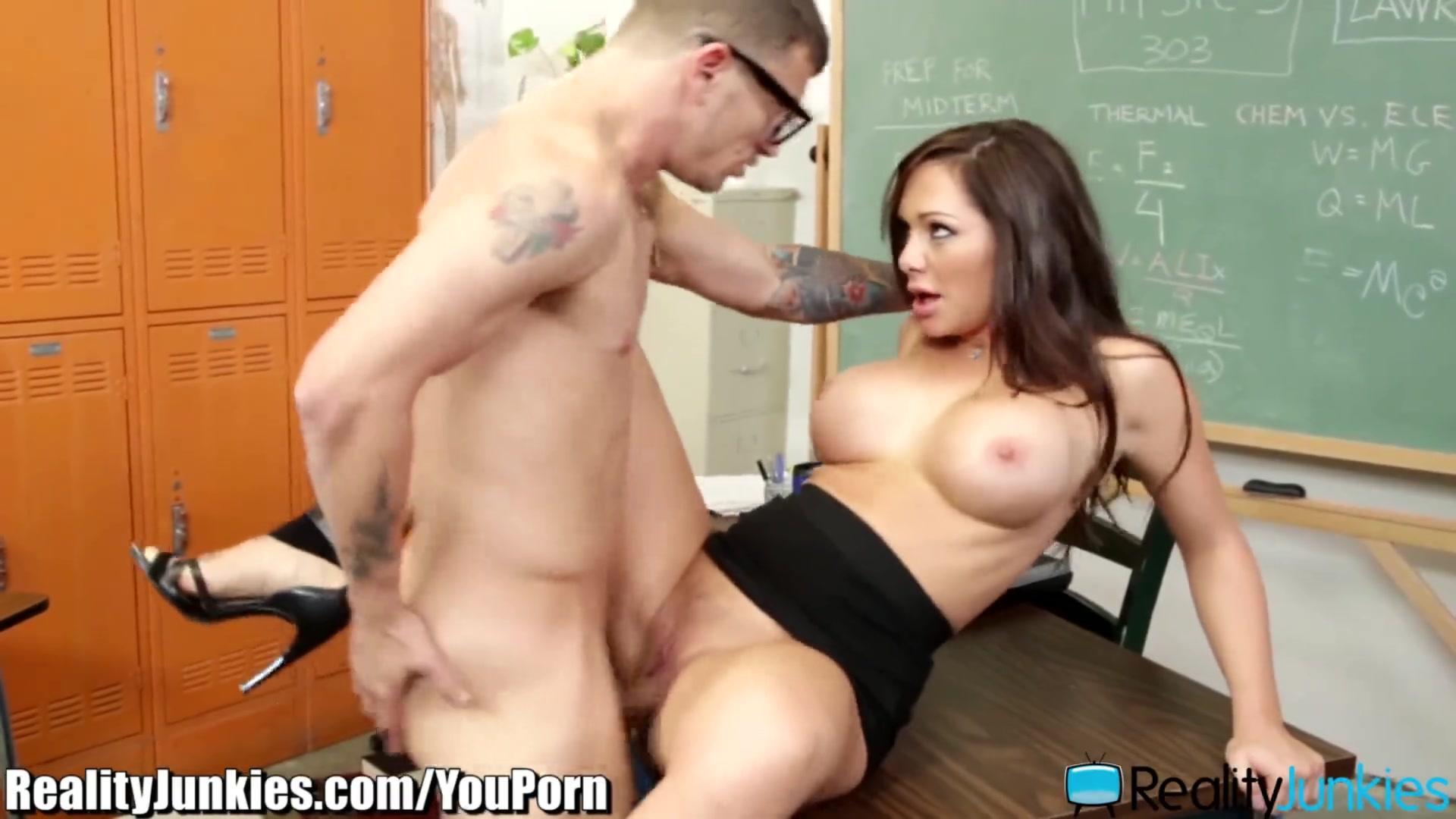 Female Teacher Fucks Student