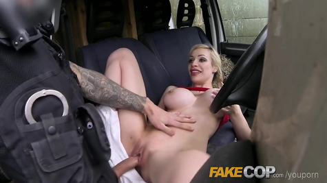 The cop had a lot of fun with a real trouble-free slut