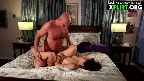 Busty American whore Kendra Lust is getting hardcore sex in front of the camera and enjoying it