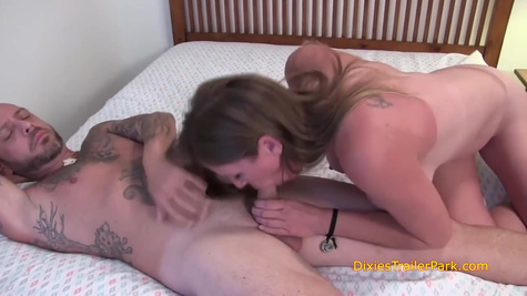 Tattooed babies are moaning while getting fucked hard inside shaved pussies in compilation of videos