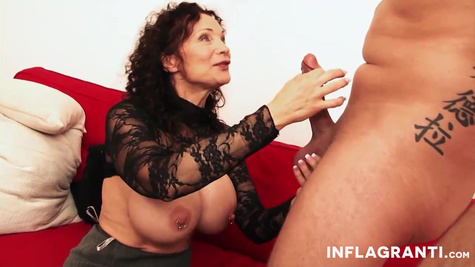 Danica Danali is a big titted plumper who really likes to masturbate her pussy and fucks with younger guys in front of the camera