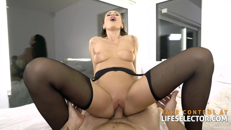 Tina Kay is a smashing brunette who likes hard cocks and hardcore sex more than anything else