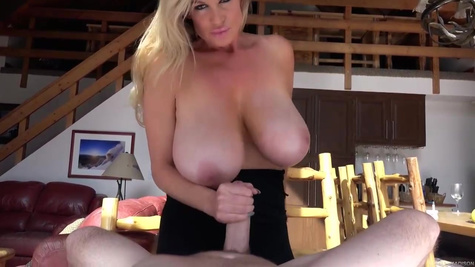 Kelly Madison is a busty experienced woman who knows exactly what to do with a hard dick