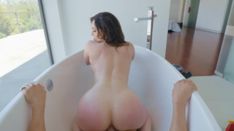 Lovely Kendra Lust thanks stepson's friend by sex in bathroom
