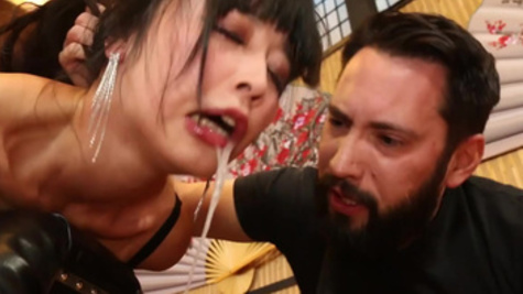 There's no limit to Marika Hase's happiness when she is fucked hard