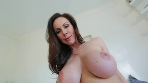 Kendra Lust is showing her big boobs and fucks with a lover