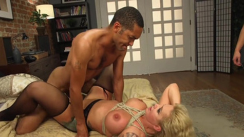 Anal interracial home experience for busty wife, Ryan Conner