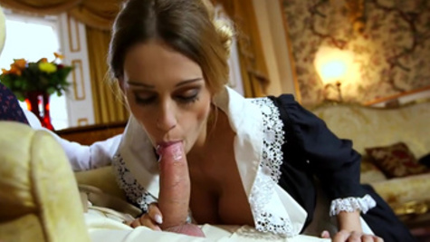 Slim Erica Fontes spreads legs for a cock while craving for an orgasm