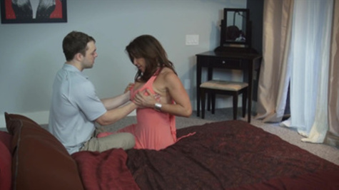 Busty Rachel Steele loves feeling it deep in her creamy vag