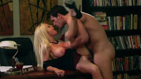 Jesse Jane incredible hardcore in various modes along hot stud