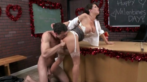 Perfect classroom hardcore sex with busty teacher, Veronica Avluv