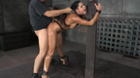 Bounded India Summer receives rough fucking punishment
