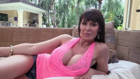 Huge tits Eva Karera enjoys rough pleasuring for her fuck holes