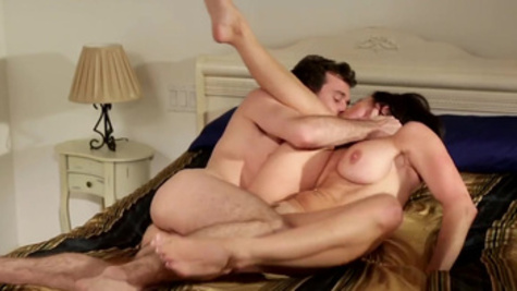 Amorous and wild sex pleasures with James Deen and Kendra Lust