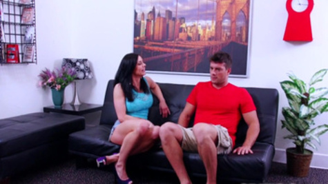 Raucous love making with horny and wild milf Kendra Lust