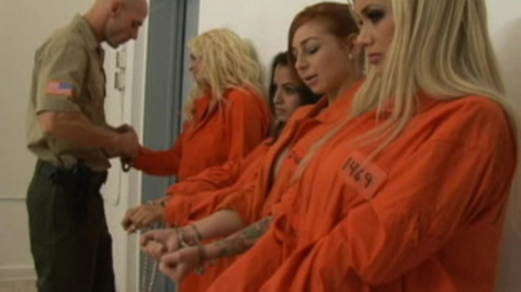 Sexy inmate Shyla Stylez gives delightful fellatio pleasures