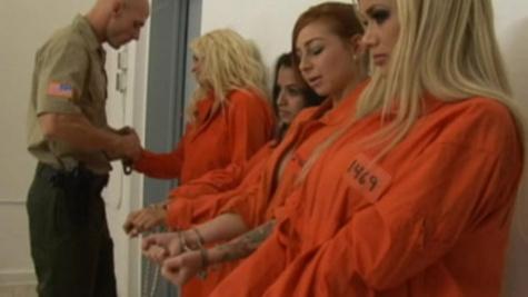 Sexy inmate Shyla Stylez gives delightful fellatio pleasures