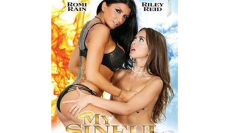 Hot cut scenes from a movie with Riley Reid and Romi Rain