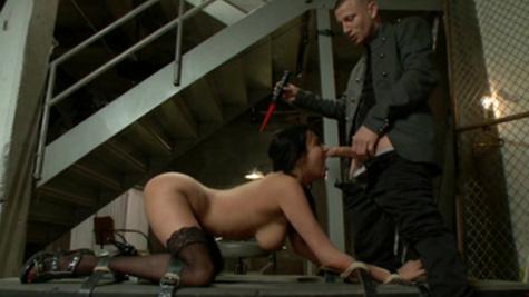 BDSM fuck scene with astonishing pornstar Anissa Kate