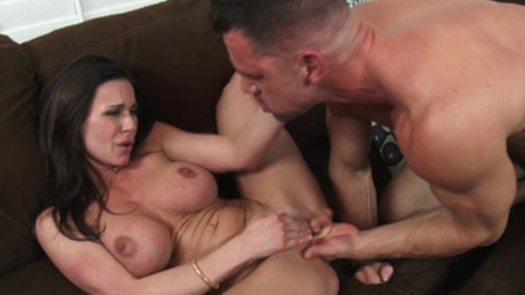 Kendra Lust seduces an attractive stud for a nice fuck