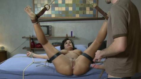 BDSM sex scene with remarkable MILF beauty Lisa Ann