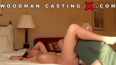 Sexy casting with splendid Laura Brook being fucked