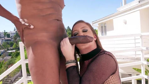 Chubby girl Maddy O'Reilly analyzed with outstanding BBC