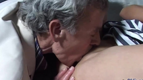 Old lawyer seduced by young client Renata Black inside cell