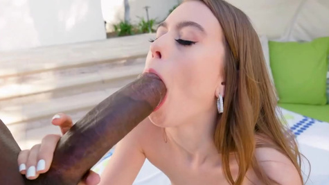 Jill Kassidy's is experienced enough for big black cock