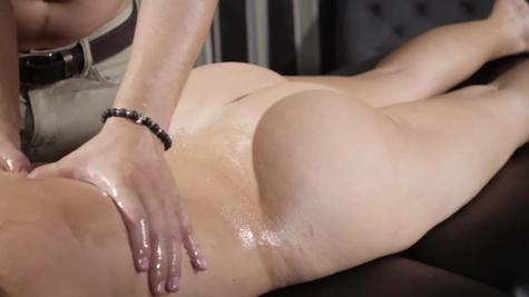 Busty MILF Alena Croft is fucked in ass by her masseur
