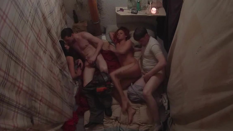 Noname from Czech dungeon is banged all day by different guys