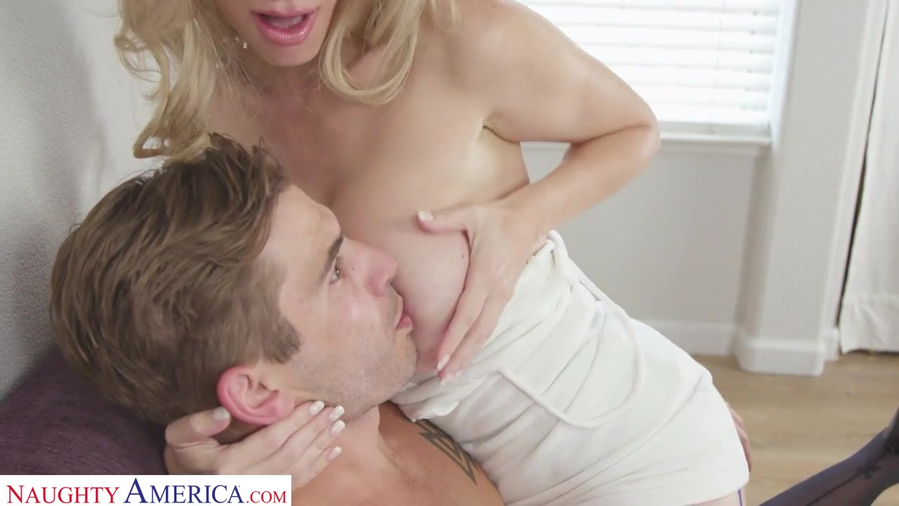 Old Lady Fucks Young Guy