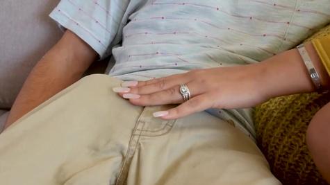 Bridgette B fools around with the stepdaughter's boyfriend