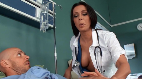 Rachel Starr is one of the doctors craving for patient's cock