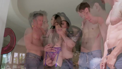 Marley Brinx in The Gangbang Of Marley Brinx