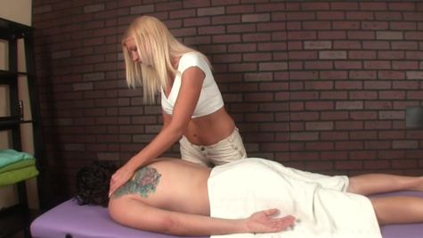 Christina Skye in Hard cumshot from tickle torture with christina skye