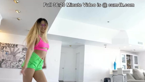 Lulu Chu in Stepbro Keeps Cumming