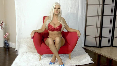 Brittany Andrews in Stars and Stripes